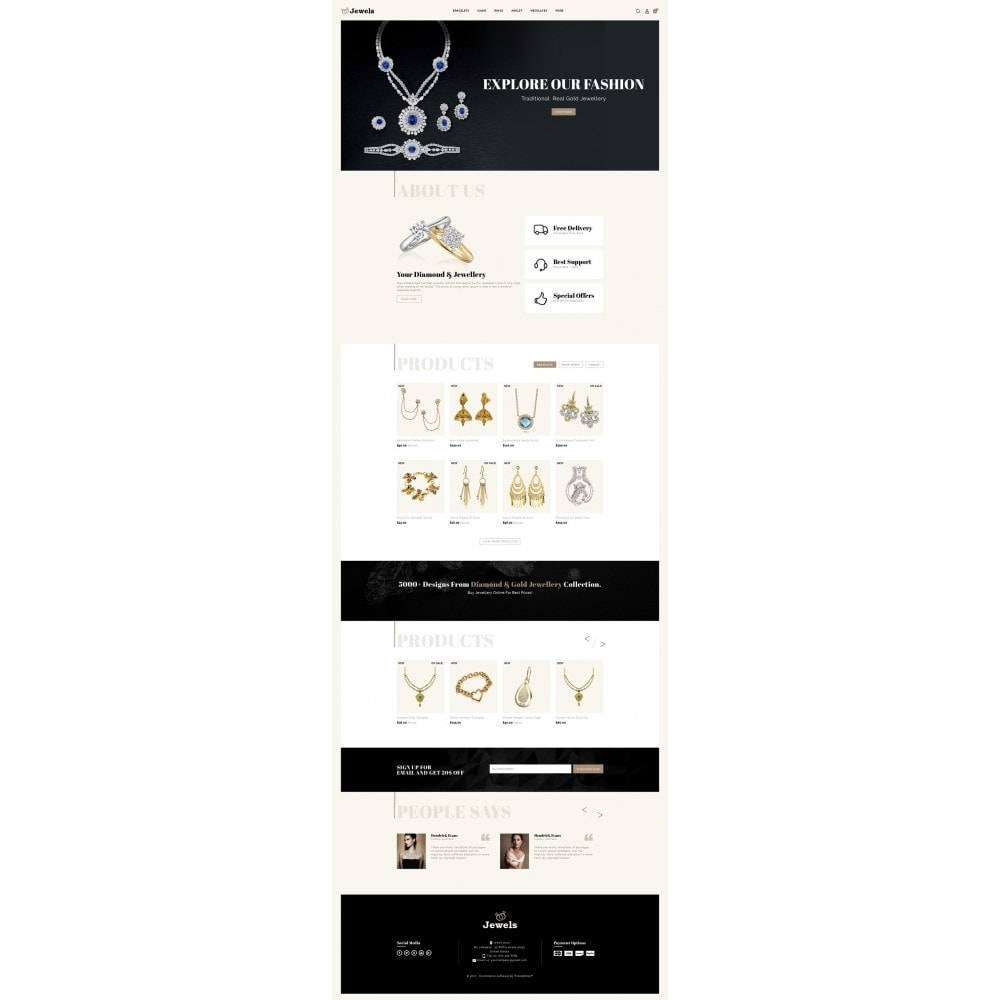 theme - Jewelry & Accessories - Jewels & Fashion Store - 2