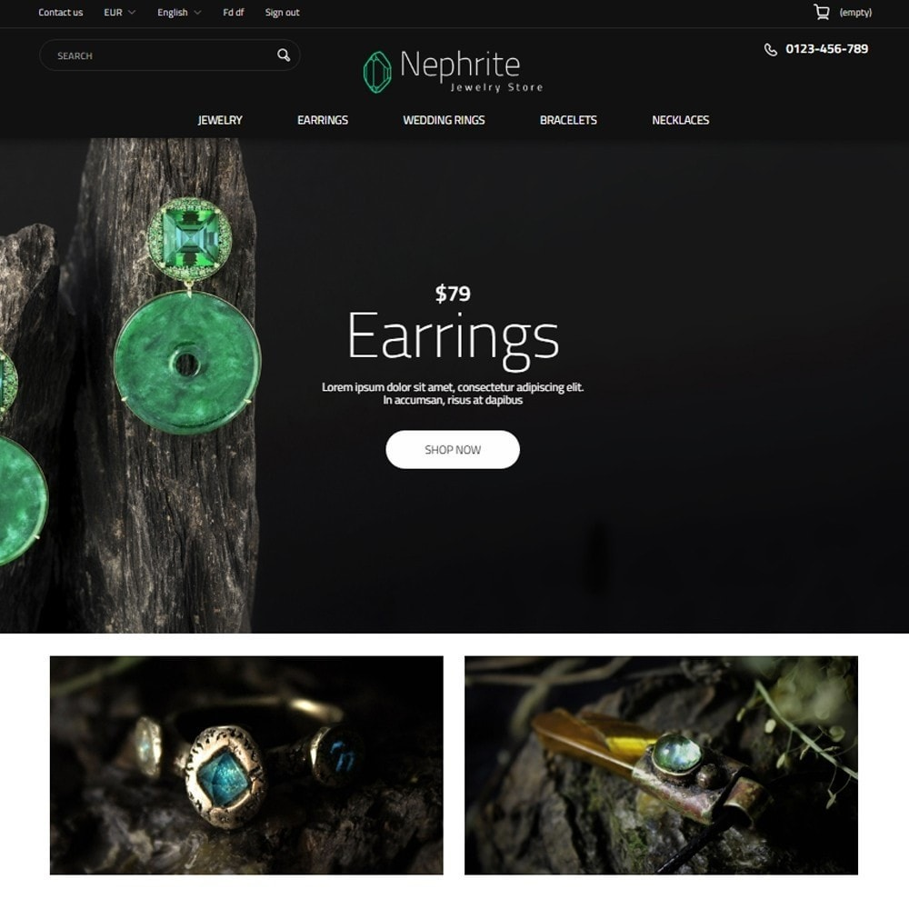theme - Jewelry & Accessories - Nephrite - Jewelry Store - 2