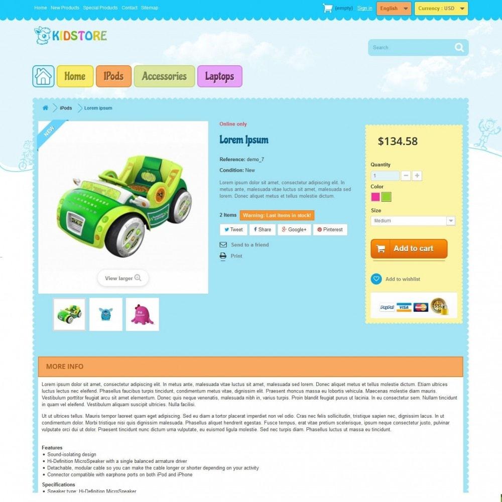 theme - Crianças & Brinquedos - kidstore3.2 - 5