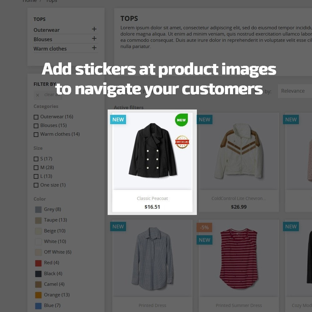 module - Etiquettes & Logos - AN Stickers & Labels for Products Pro - 3