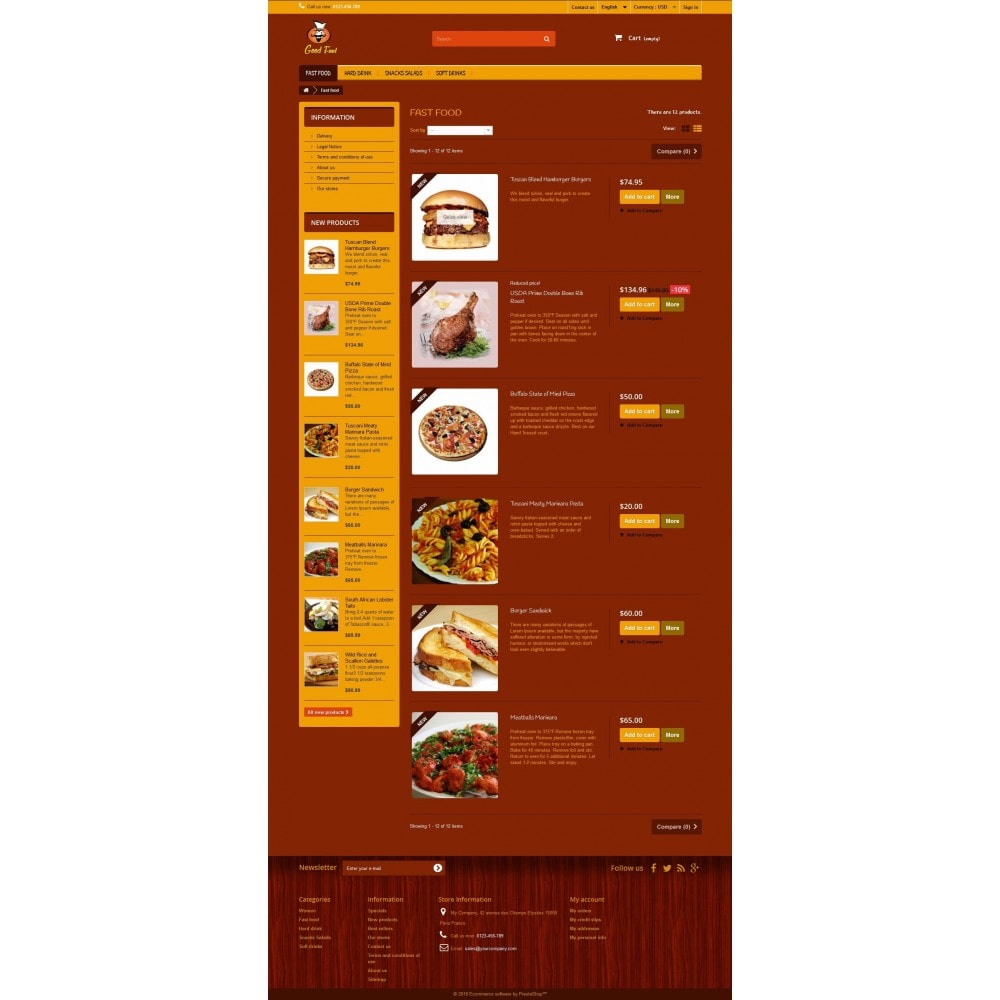 theme - Alimentos & Restaurantes - Good Food 1.2 - 3
