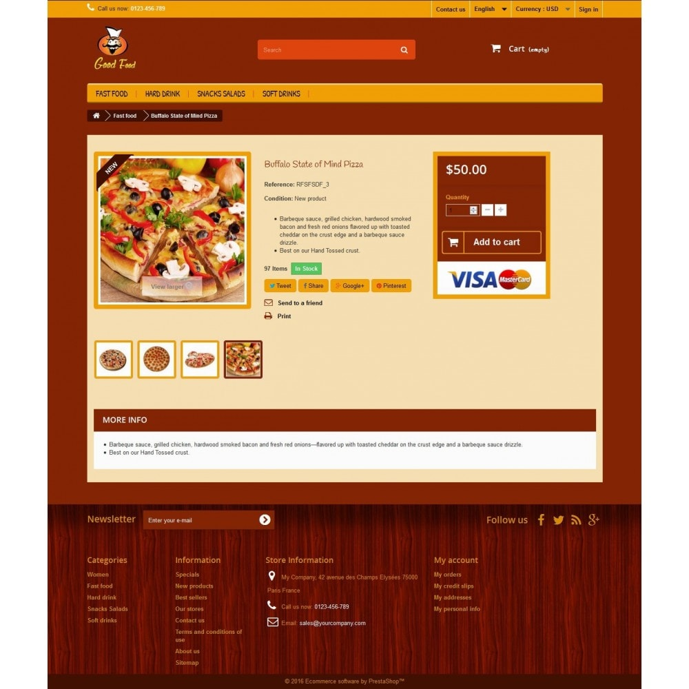 theme - Alimentos & Restaurantes - Good Food 1.2 - 4