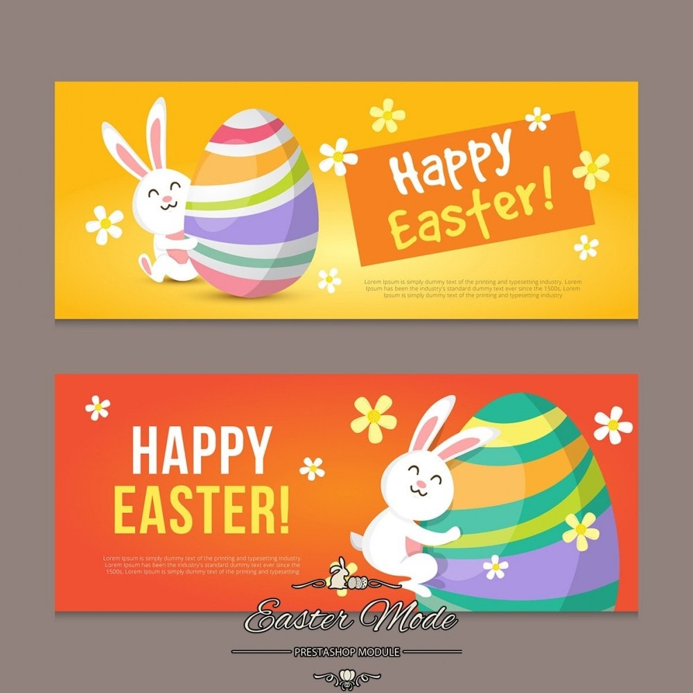 module - Page Customization - Easter Mode - Theme customizer - 25