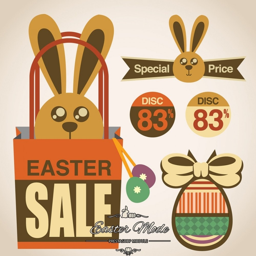 module - Page Customization - Easter Mode - Theme customizer - 28