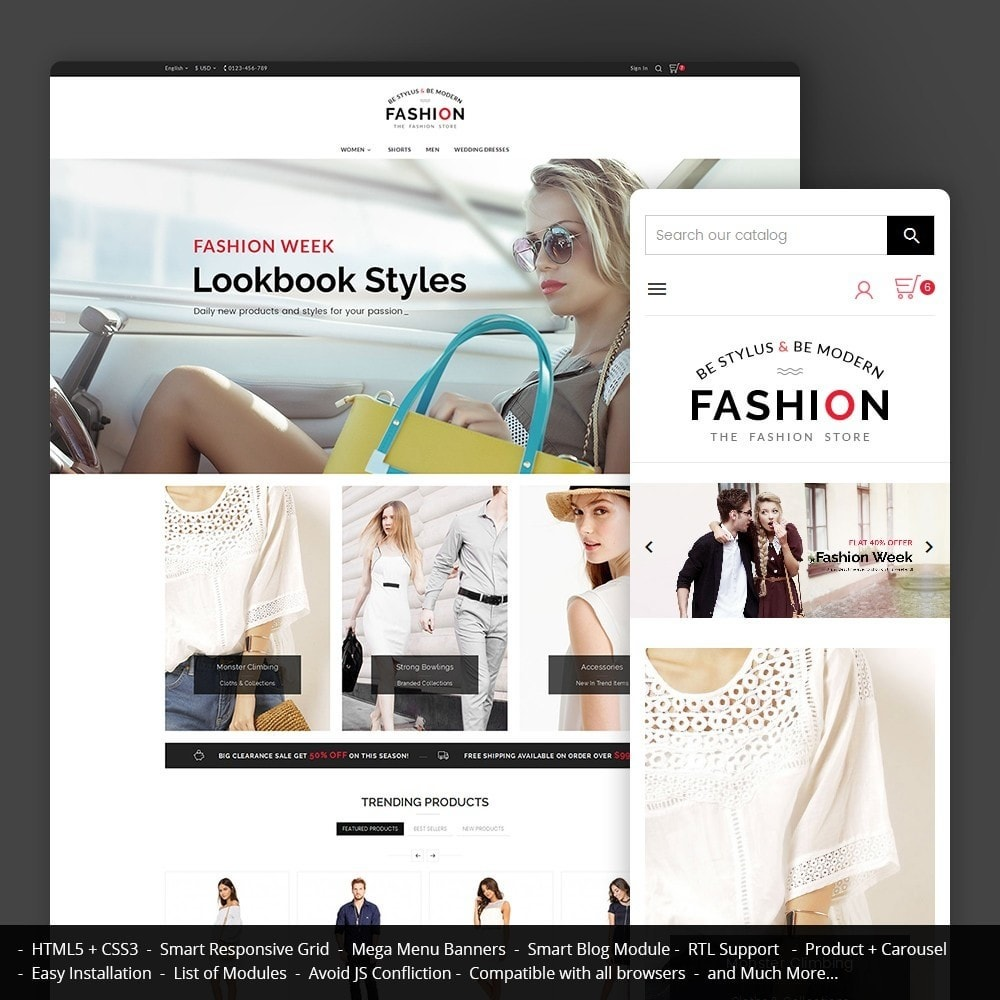 theme - Fashion & Shoes - Fashion Store - 1
