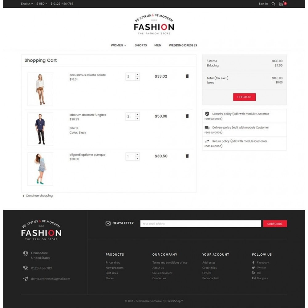 theme - Mode & Schuhe - Fashion Store - 6