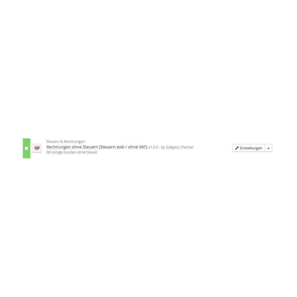 module - Buchhaltung & Rechnung - Rechnung ohne Steuern (Steuern exkl / ohne VAT) - 3
