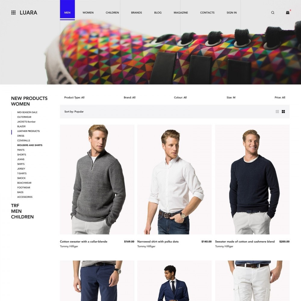 theme - Fashion & Shoes - Laura - Clothing Store - 2