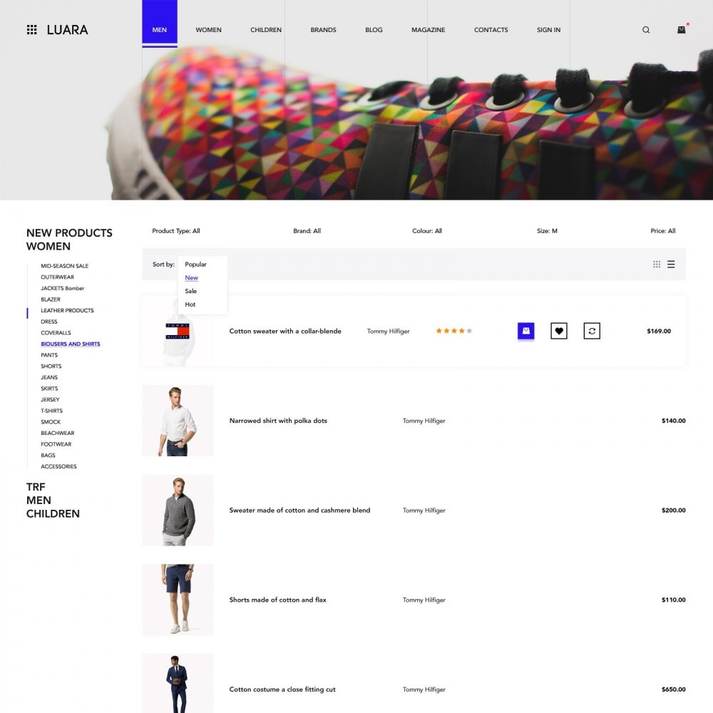 theme - Fashion & Shoes - Laura - Clothing Store - 3