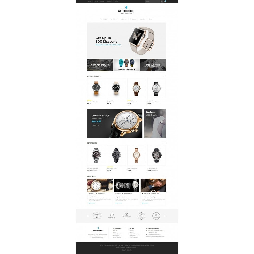 theme - Schmuck & Accesoires - Latest Watch Store - 2