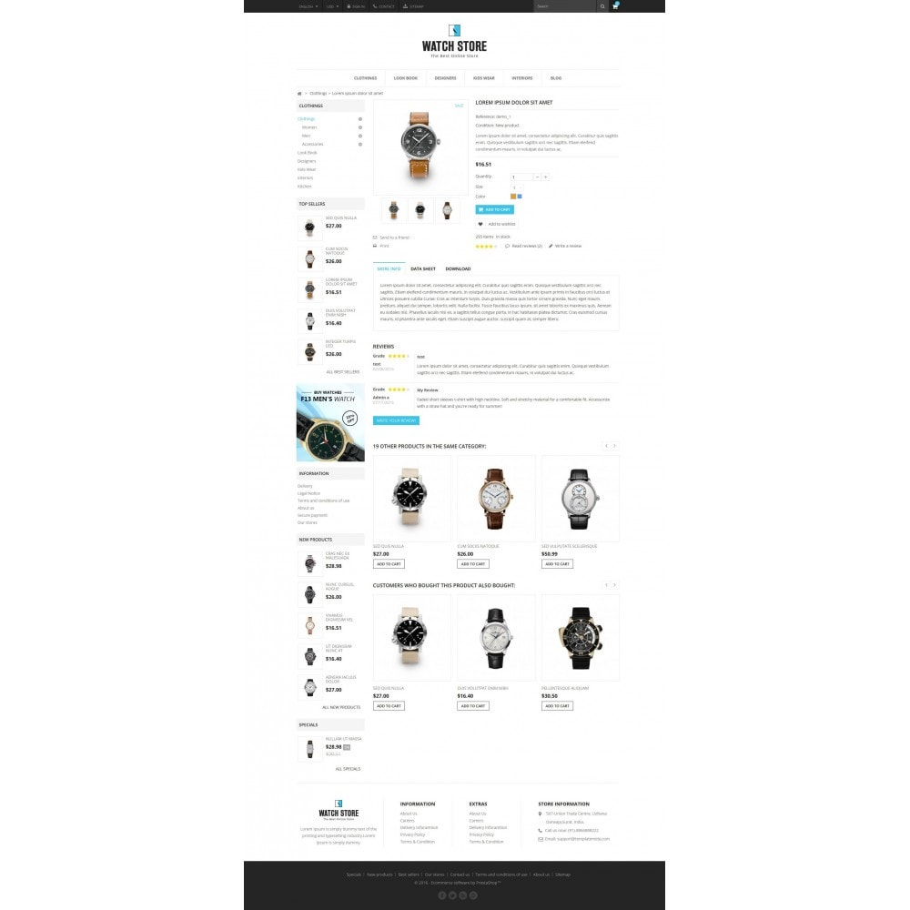 theme - Biżuteria & Akcesoria - Latest Watch Store - 5