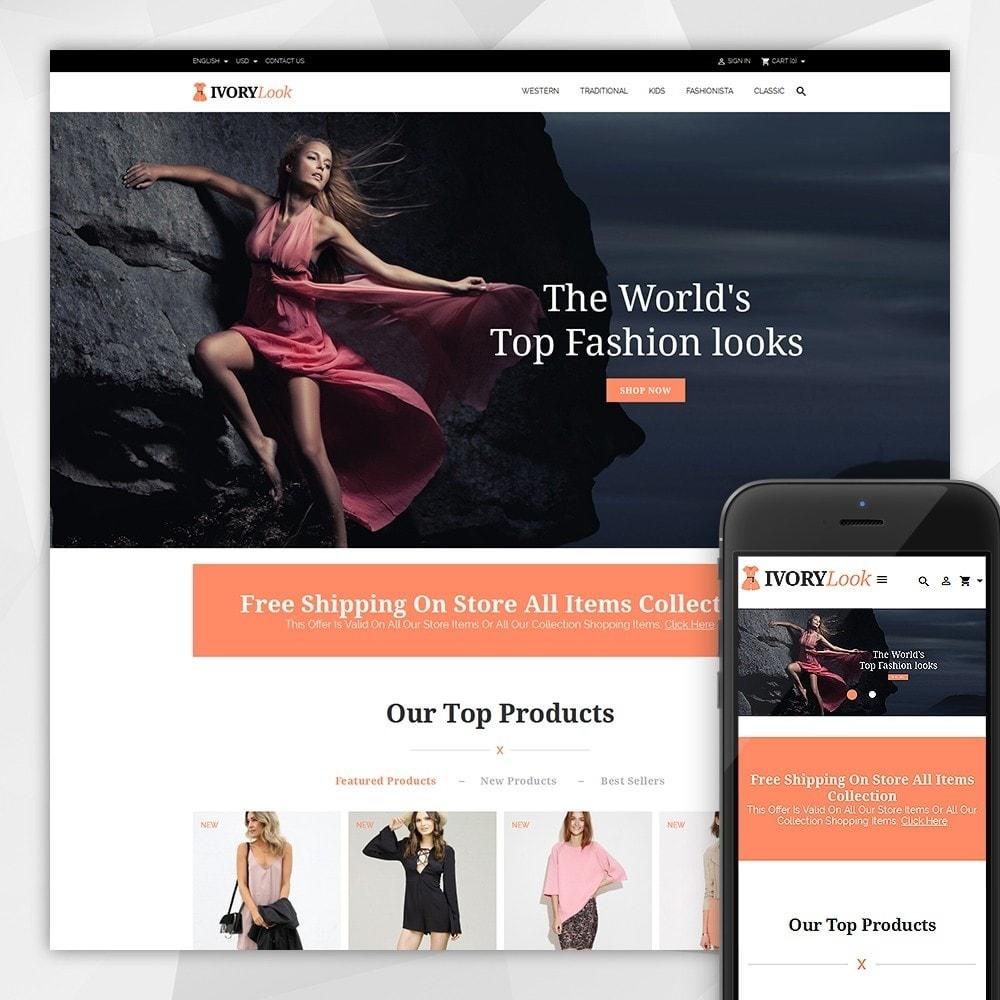 theme - Moda y Calzado - Ivory Look Store - 1