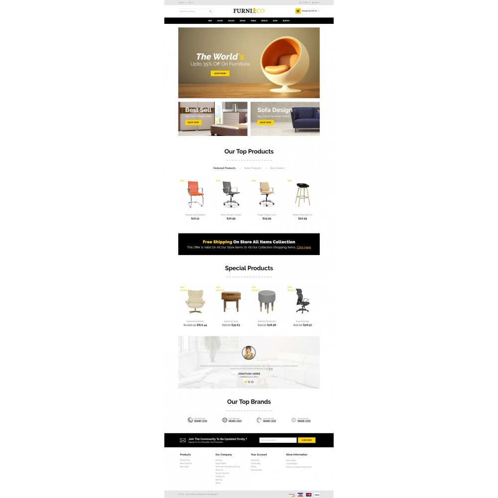 theme - Huis & Buitenleven - Furni - Online Furniture Store - 2
