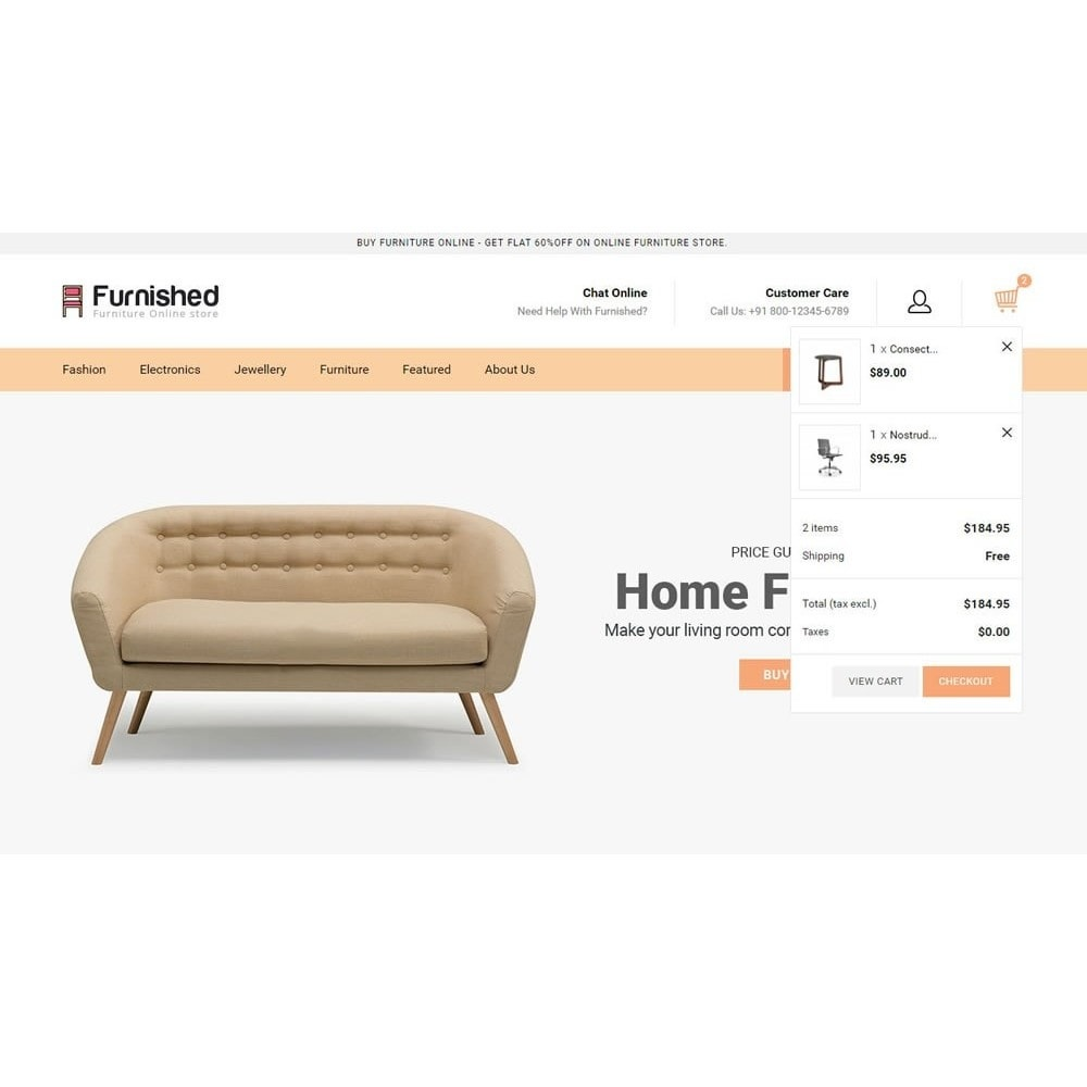 theme - Home & Garden - Furnished - Best Online Store - 9