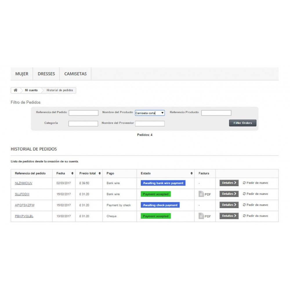 module - Gestión de Pedidos - Gestión y Filtro de Pedidos.MultiventasFront-EndB2B-B2C - 3