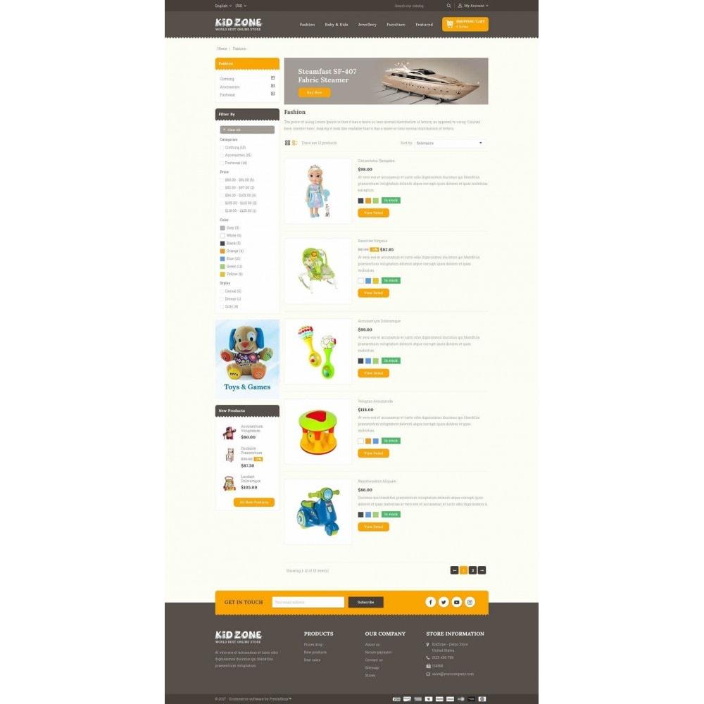 theme - Enfants & Jouets - Kid Zone Online Store - 4