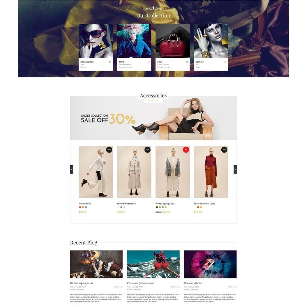 theme - Fashion & Shoes - Blanc Fashion Store - 2