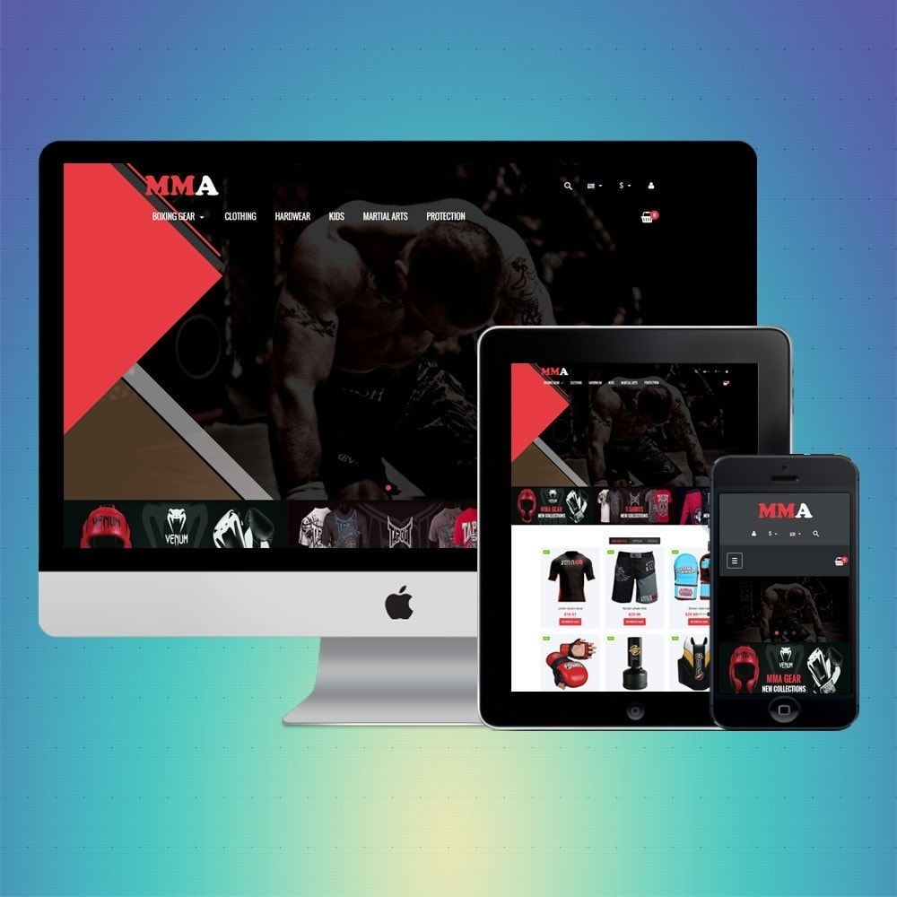 theme - Sport, Loisirs & Voyage - VP_MMA Store - 1