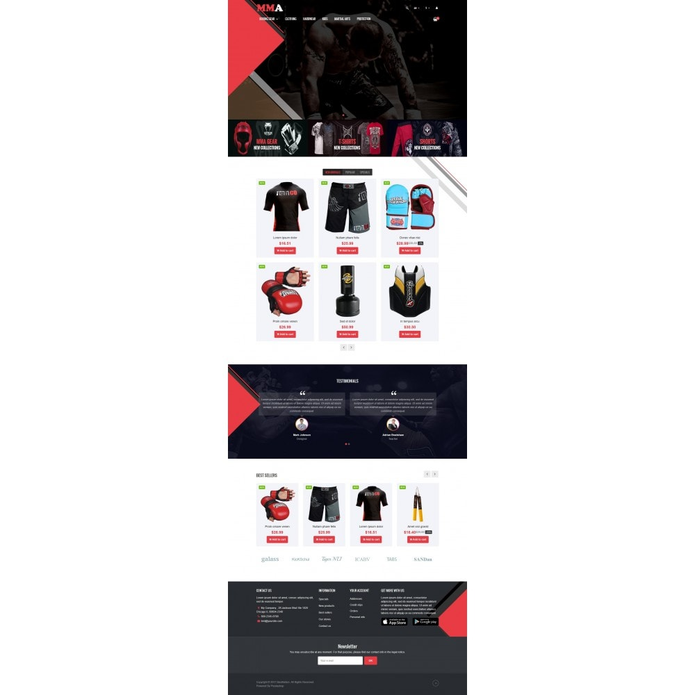 theme - Sports, Activities & Travel - VP_MMA Store - 2