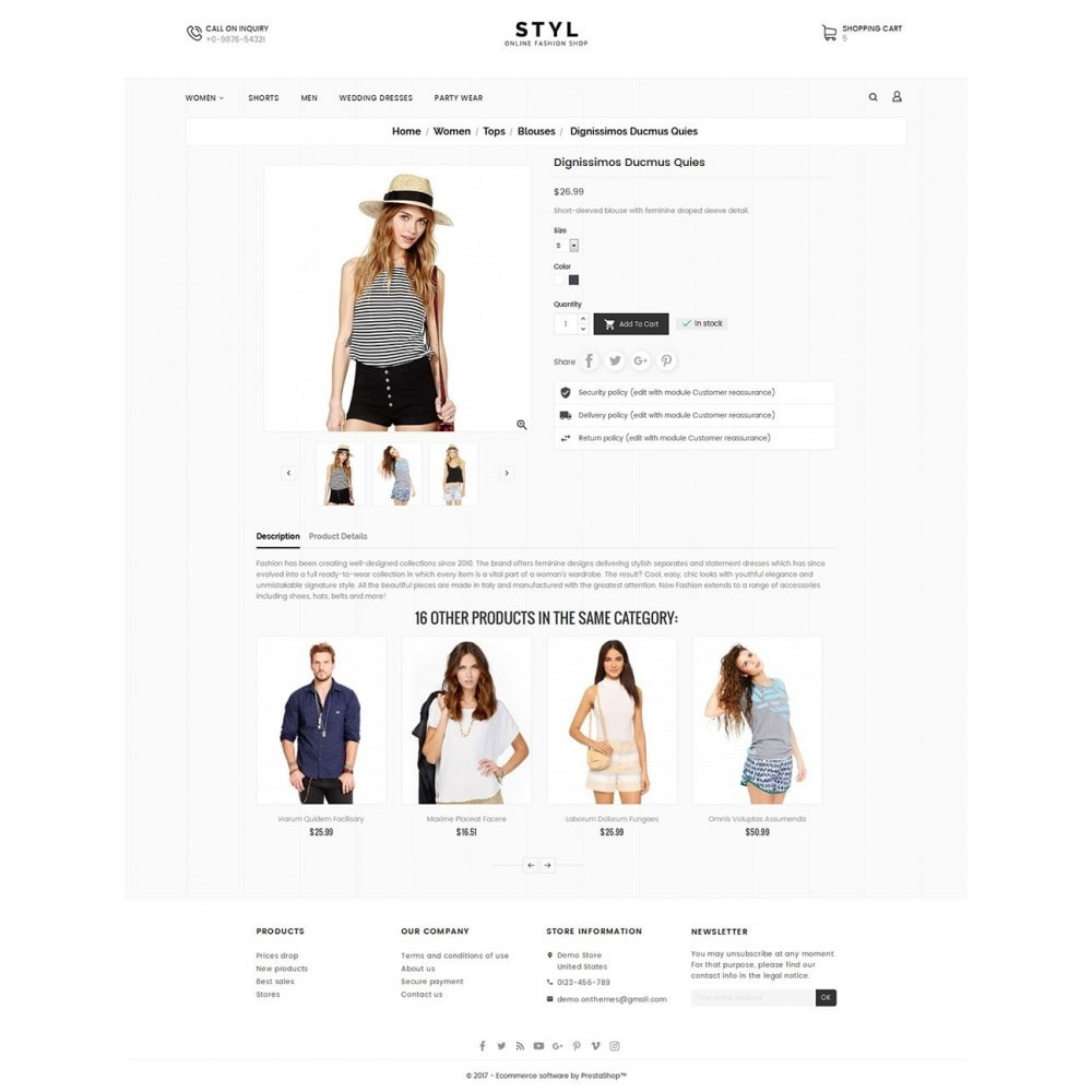 theme - Moda & Calzature - Style Fashion Store - 5