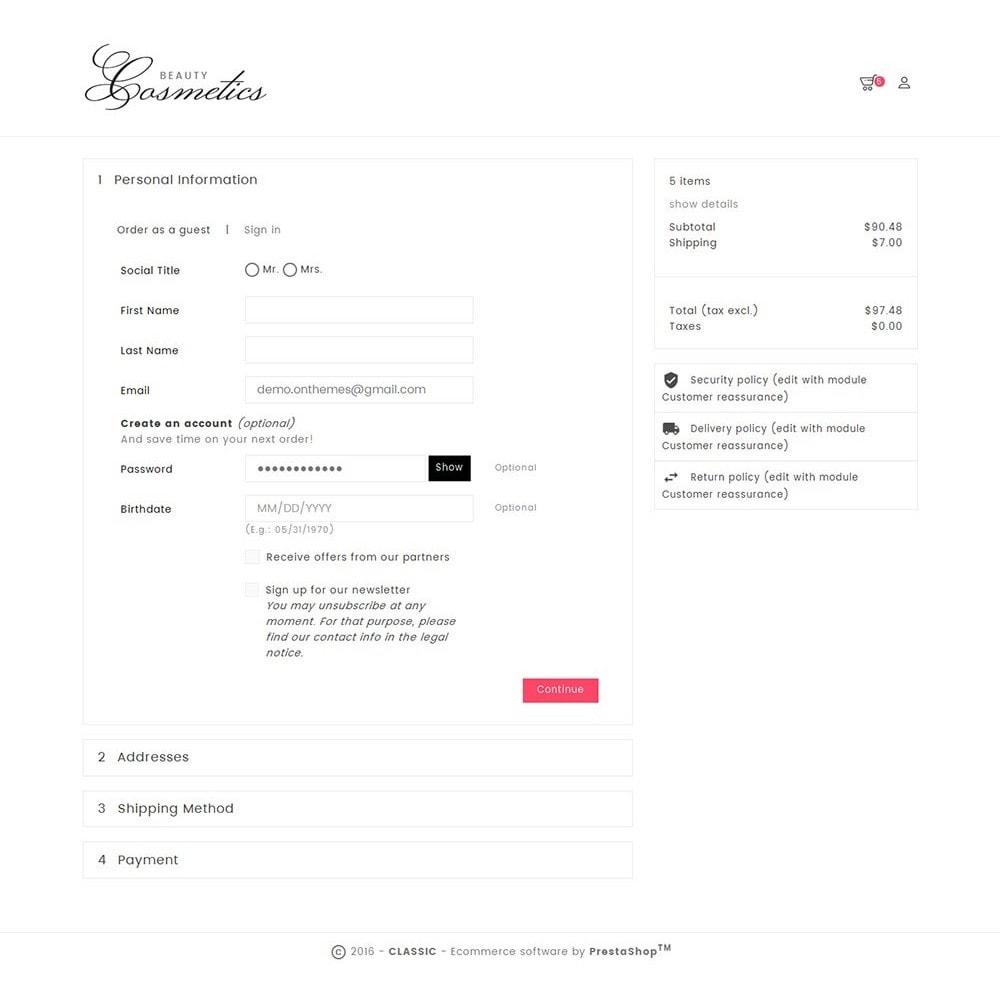 theme - Здоровье и красота - Cosmetics Store - 6