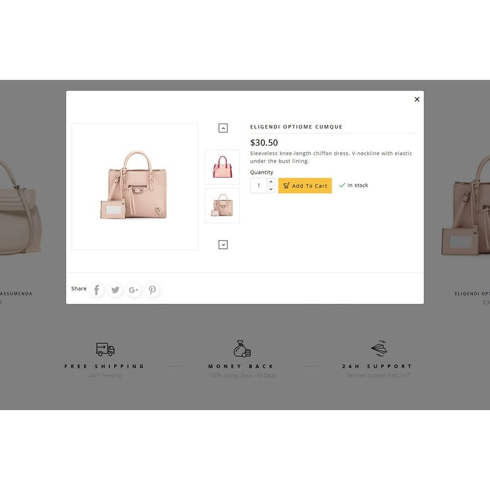 theme - Мода и обувь - Fashion Bag Store - 8