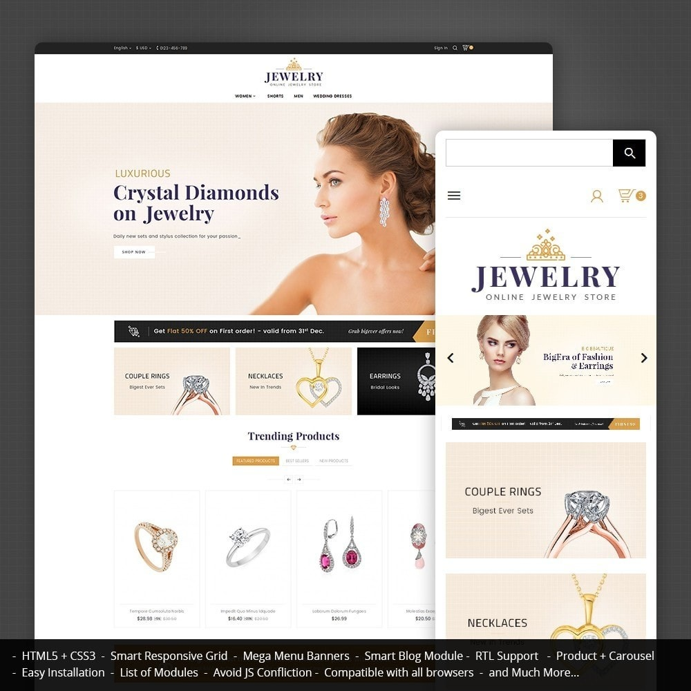 theme - Jewelry & Accessories - Jewelry Store - 1