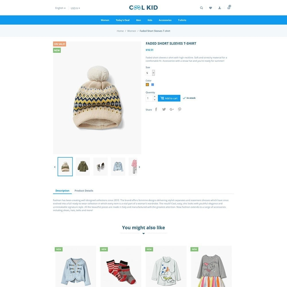 theme - Kids & Toys - Coolkid - Kids Store - 4