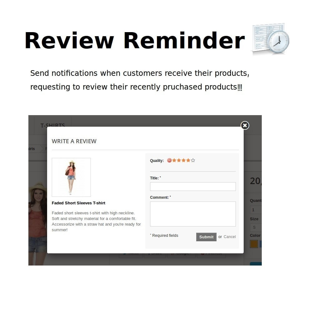 module - Avis clients - Review Reminder - 1
