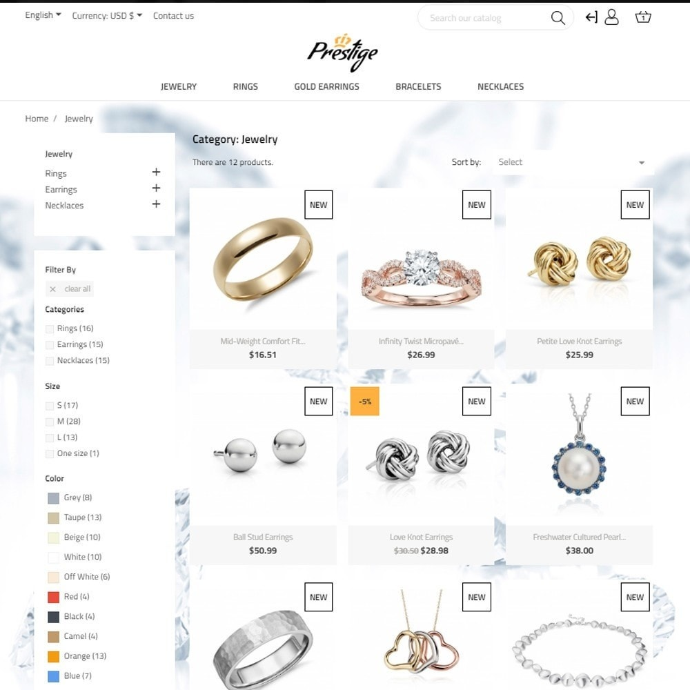 theme - Jewelry & Accessories - Prestige - 6