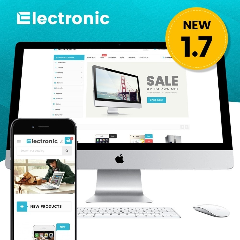 theme - Elettronica & High Tech - Supermarket - 1