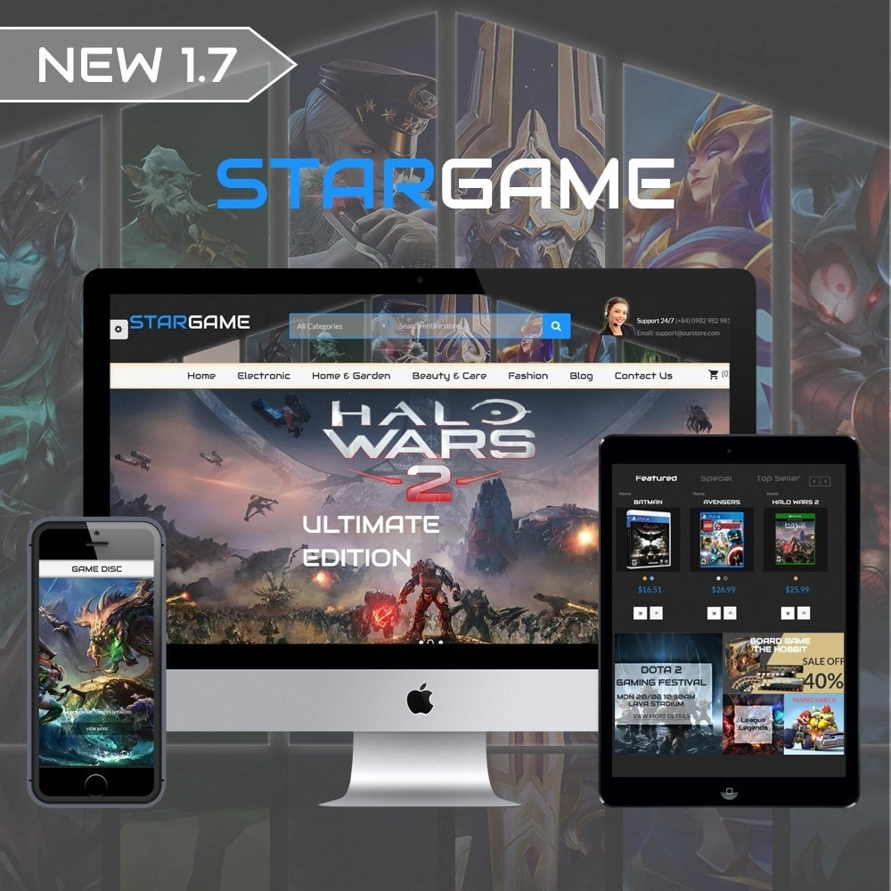 theme - Elektronica & High Tech - Star Games And Movie Store - 1