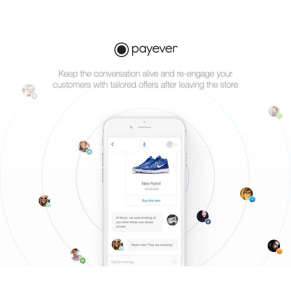module - Pago con Tarjeta o Carteras digitales - payever - Credit Card, Invoice, ELV, Installments - 2