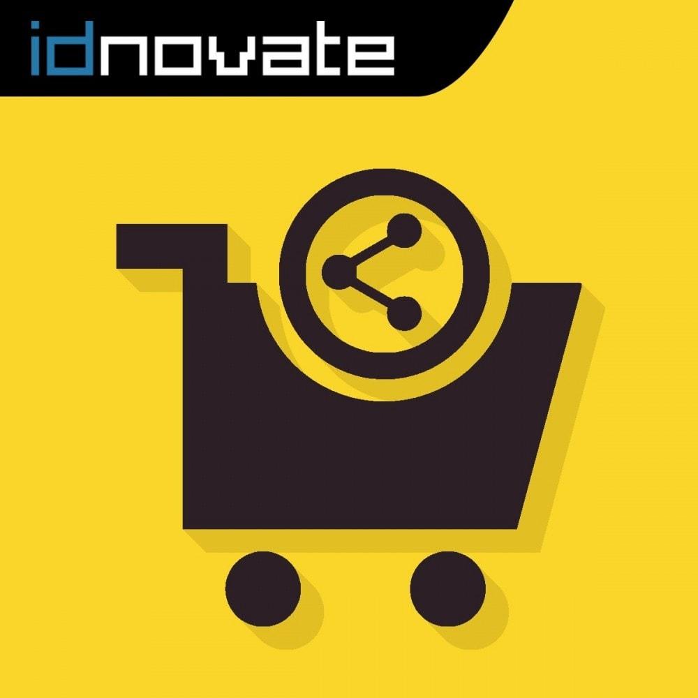module - Compartir contenidos y Comentarios - Compartir el carrito - Enlázalo en newsletters, foros - 1