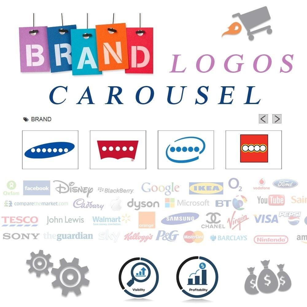 module - Бренды и производители - Responsive Brand Logos Carousel - 1