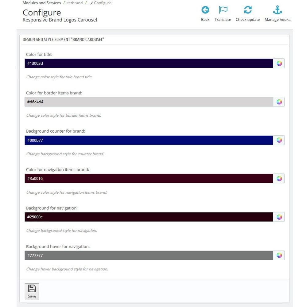 module - Бренды и производители - Responsive Brand Logos Carousel - 7