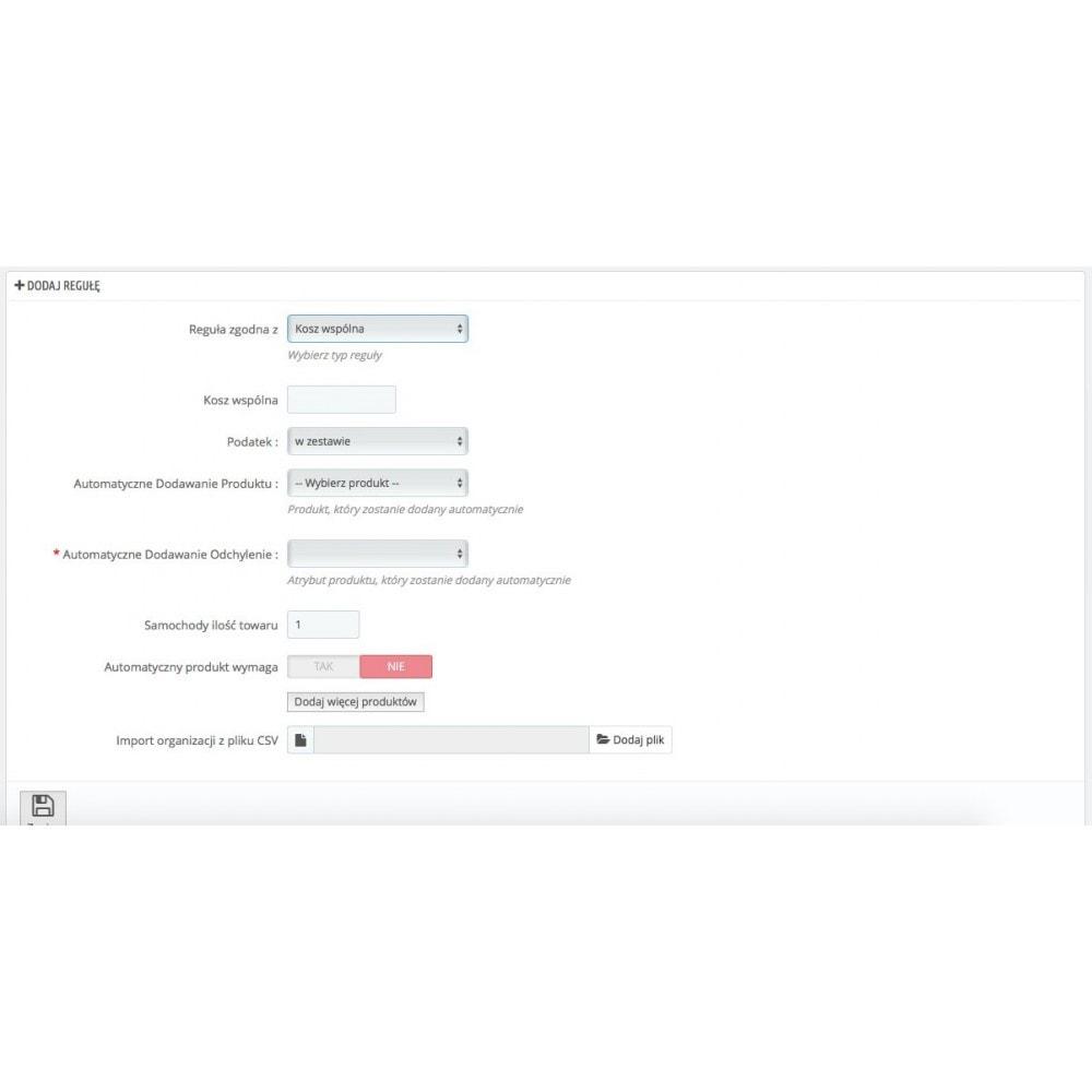 module - Sprzedaż krzyżowa & Pakiety produktów - Automatycznie dodaj produkty do koszyka - 5