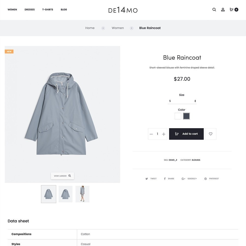 theme - Fashion & Shoes - mlc14 - A Unique and Modern e-Commerce - 7
