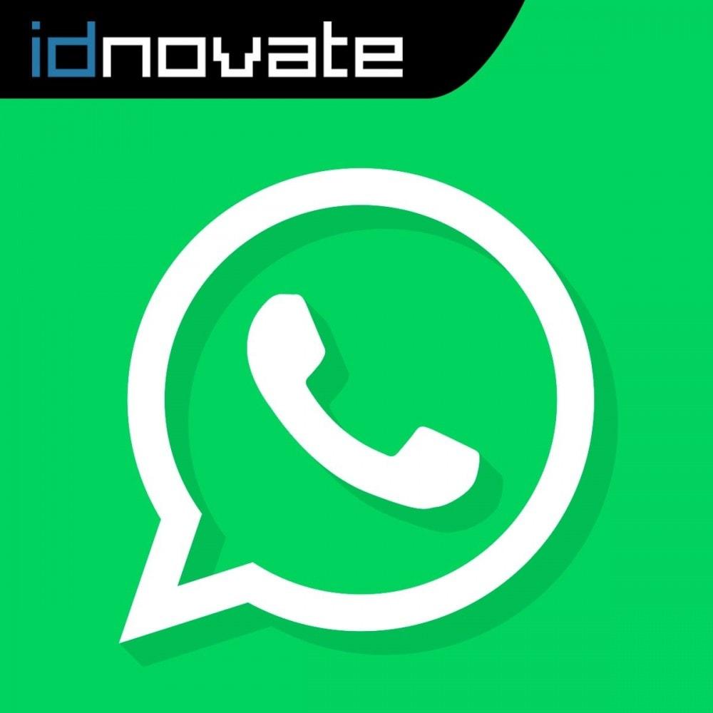module - Asistencia & Chat online - WhatsApp - Chat con clientes y WhatsApp para Negocios - 1