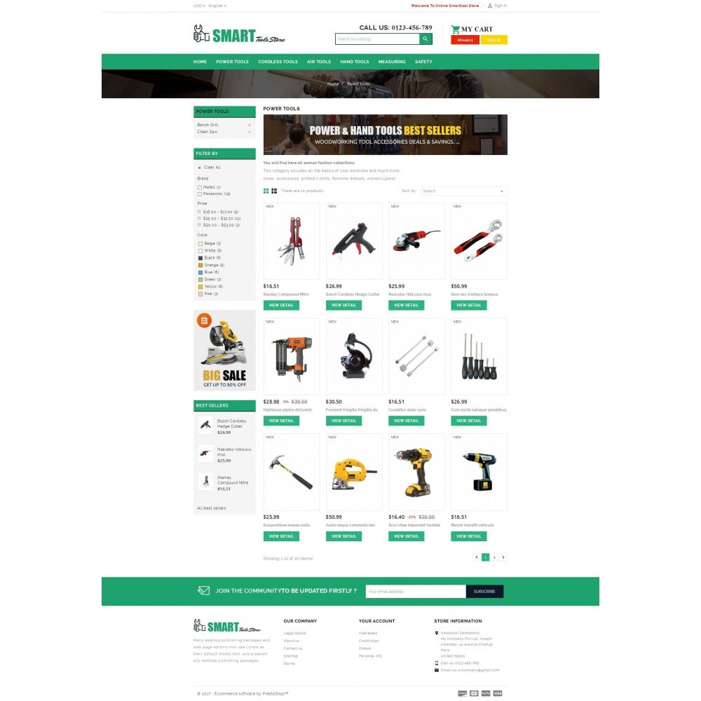theme - Auto & Moto - Smart Tools Store - 3