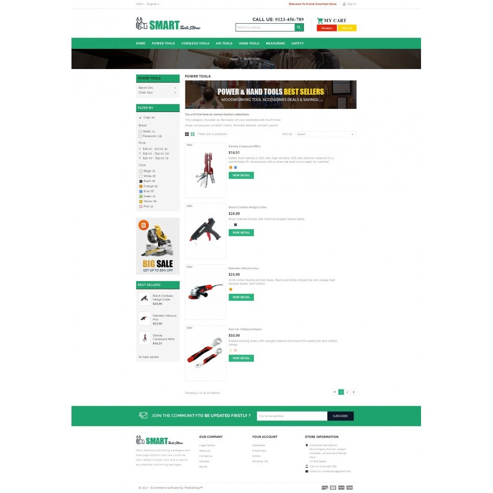 theme - Automotive & Cars - Smart Tools Store - 4