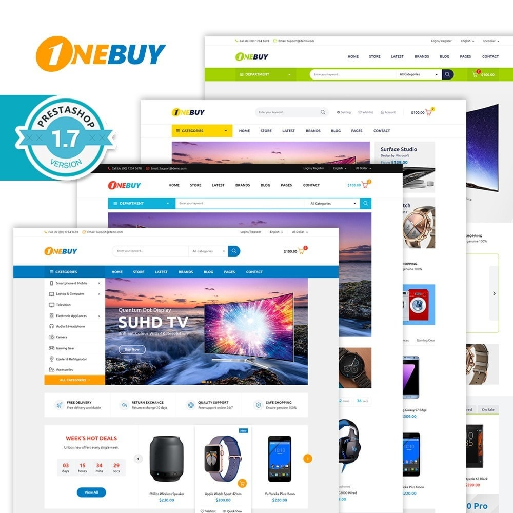 theme - Elettronica & High Tech - JMS OneBuy II - 1