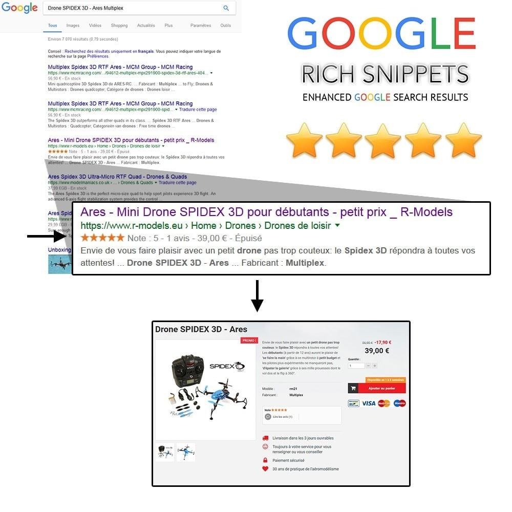 module - Естественная поисковая оптимизация - Extension 2017 Google Rich Snippets SEO+ - 1