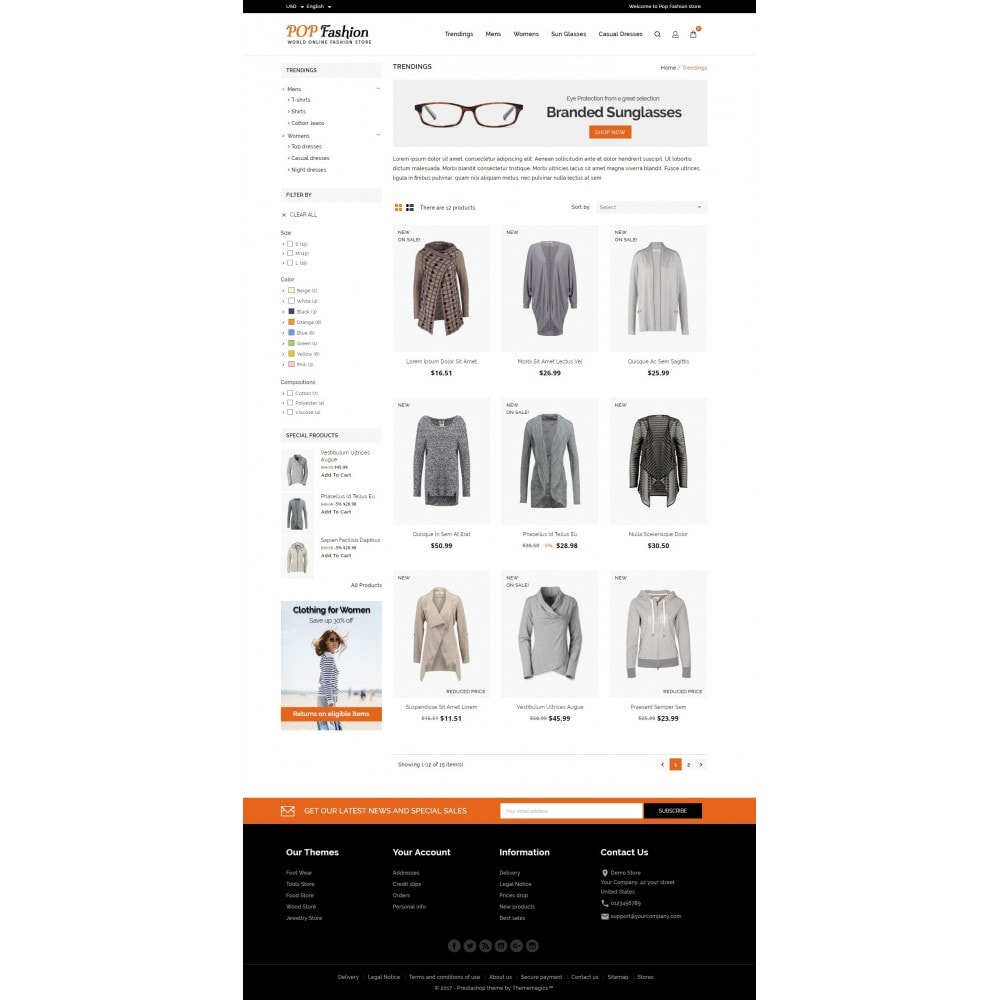 theme - Moda & Calzature - Popfashion - Fashion Store - 3
