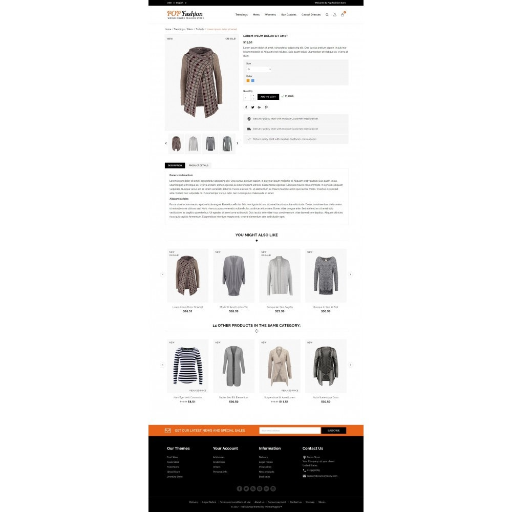 theme - Moda & Calzature - Popfashion - Fashion Store - 5