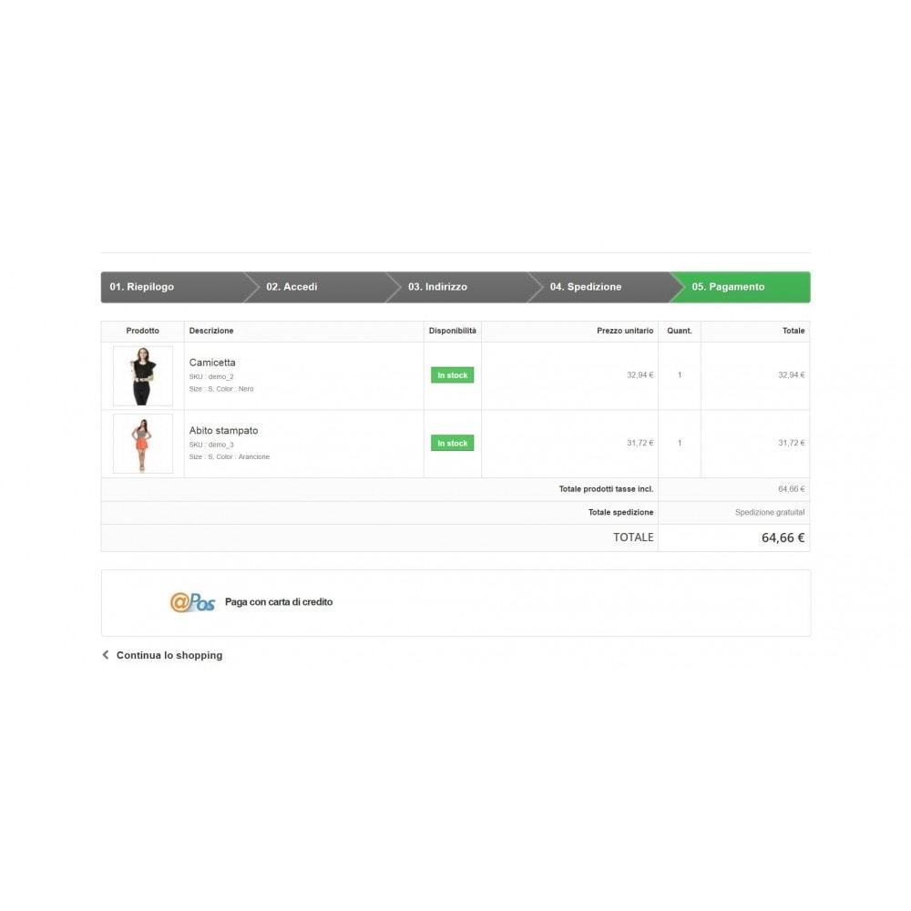 module - Software POS - Pos Virtuale @POS di SIA Avanzato Ufficiale - 3