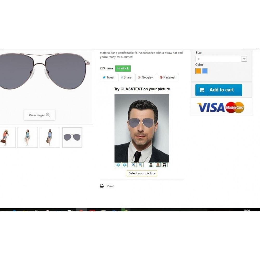 module - Visuels des produits - Essayer le produit sur votre photo - 1