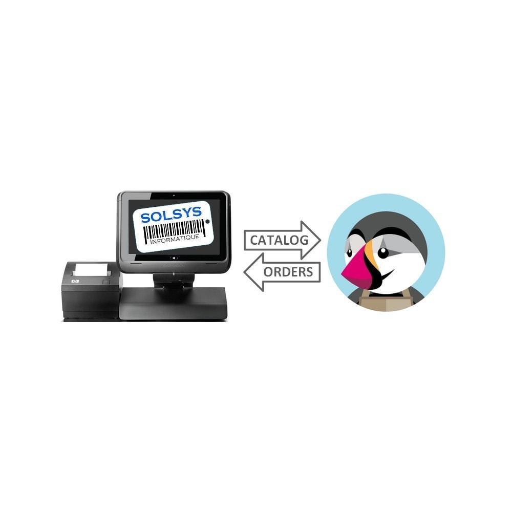 module - Connexion à un logiciel tiers (CRM, ERP...) - Connecteur SOLSYS - 1
