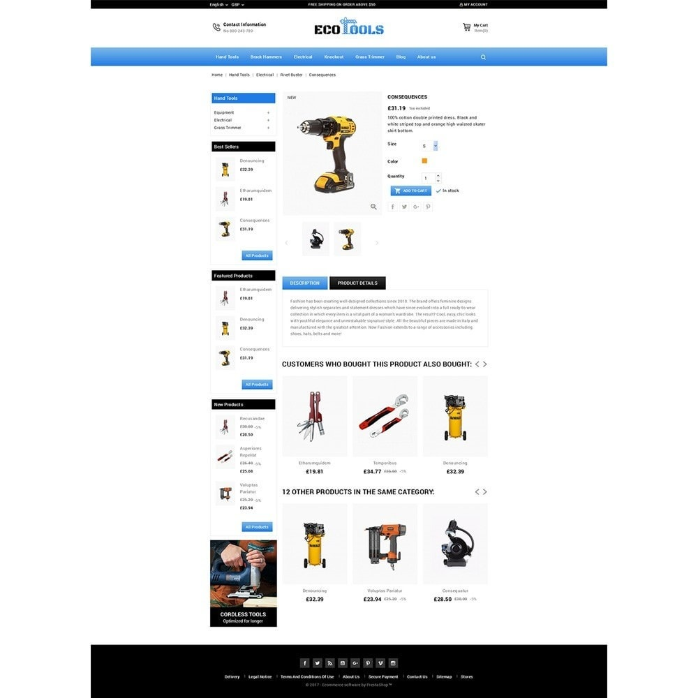 theme - Automotive & Cars - EcoTools Store - 4