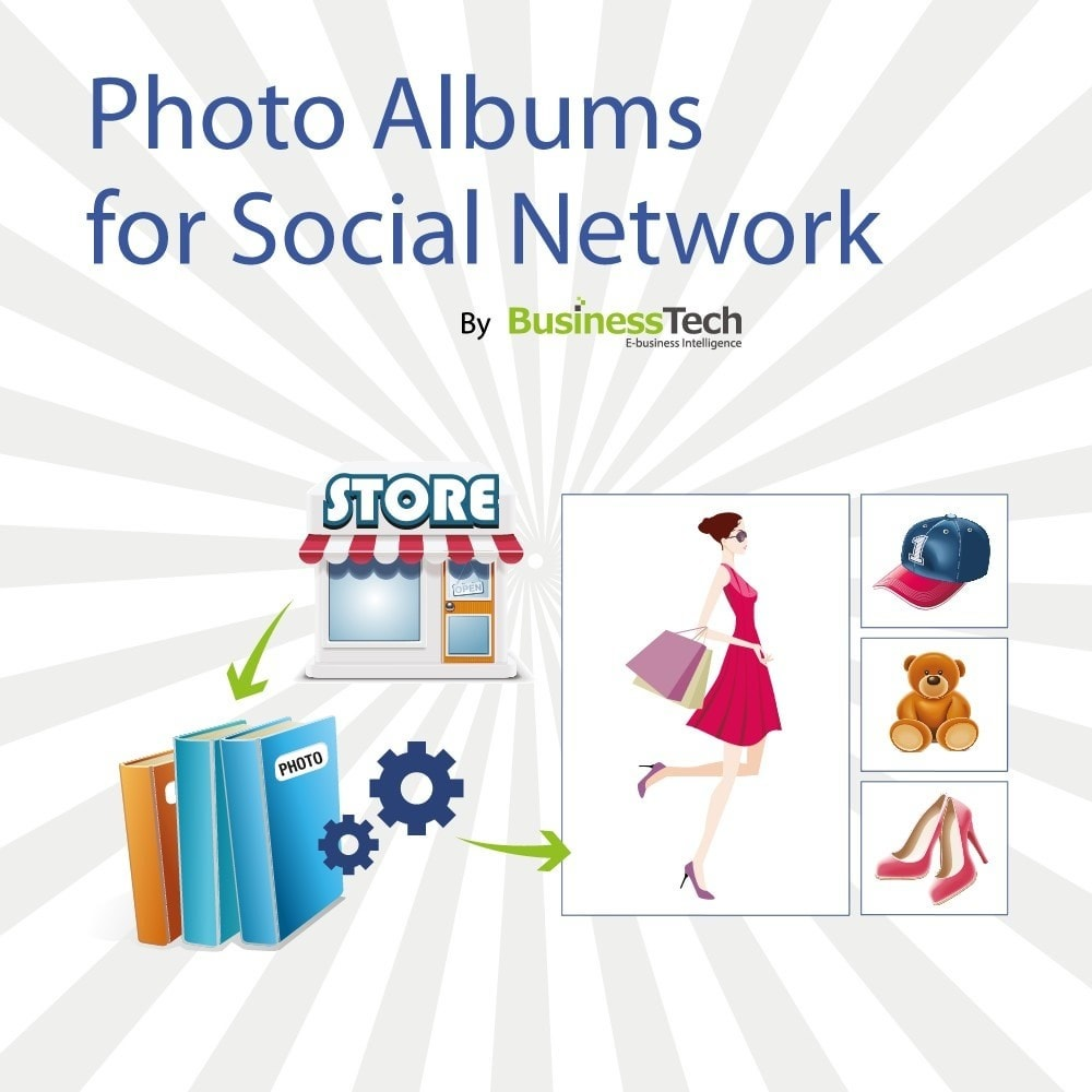 module - Productos en Facebook & redes sociales - Photo Albums para LA Red Social - 1